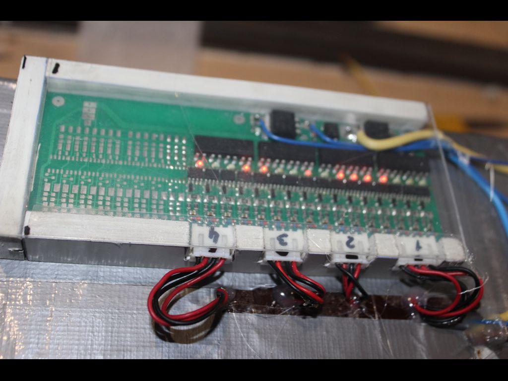 BMS 10-24S с мониторингом состояния ячеек. Пересыл.